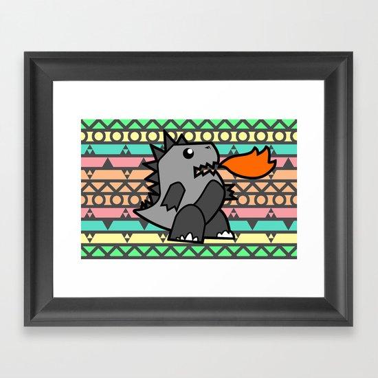 Zillaztec Framed Art Print