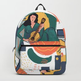 In The Mood For Music Backpack