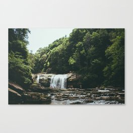 Compression Falls Canvas Print