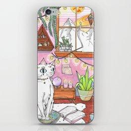 Gemini cat iPhone Skin