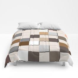 Incomplete Wall Tiles Comforters