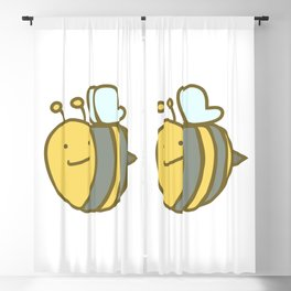 Bumble Bee Blackout Curtain