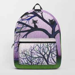 Kennewick Whimsical Cats in Tree Backpack