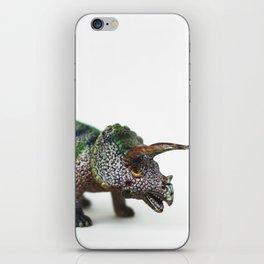 Fine Art Dinosaur Print: Triceratops iPhone Skin