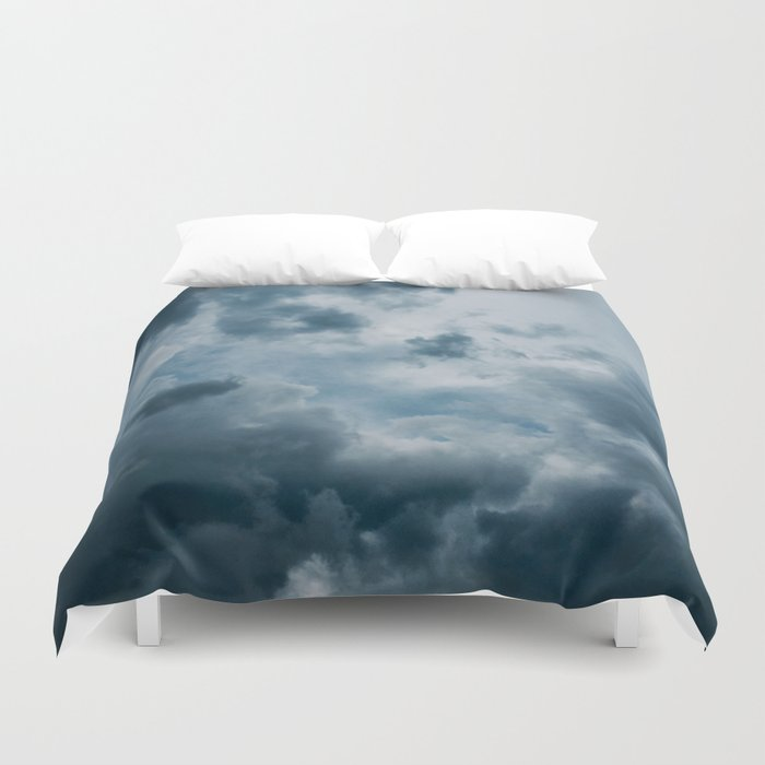 Cloudy Feelings Photography Duvet Cover