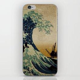 New Wave iPhone Skin