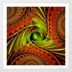 fractal design -60- Art Print