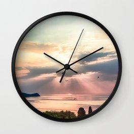 Sunny Wall Clock