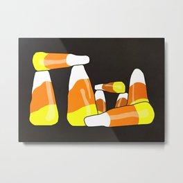 Candy Corn Henge Metal Print