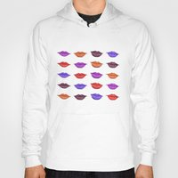 lipstick Hoodies featuring Lipstick by Young Clerks