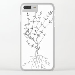 Thyme Clear iPhone Case