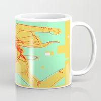 runner Mugs featuring Runner by gallerydod