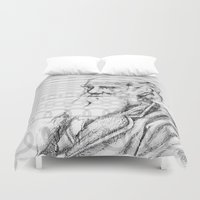 darwin Duvet Covers featuring C.DARWIN by Noelle Fontaine