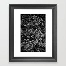 Her Black Soul Framed Art Print
