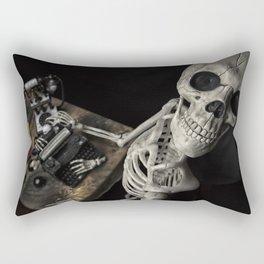 Mr Halloween Skeleton Rectangular Pillow