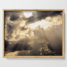 Sun Rays Serving Tray