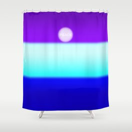 uksteffie1-PEACE Shower Curtain
