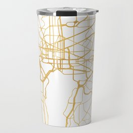 WASHINGTON D.C. DISTRICT OF COLUMBIA CITY STREET MAP ART Travel Mug