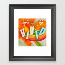 Vivid Framed Art Print