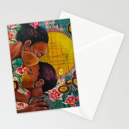 Mama in Spring Stationery Cards