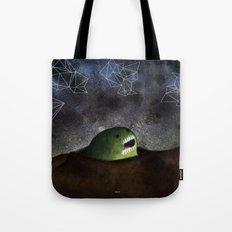 Asomandose Al Espacio Tote Bag