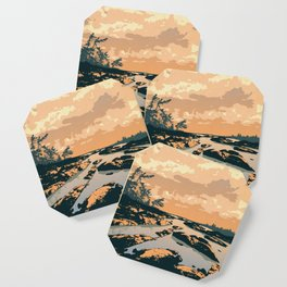 The Massasauga Park Poster Coaster