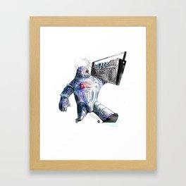 Ghetto Bot Framed Art Print