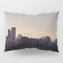 Portland at Dusk Pillow Sham