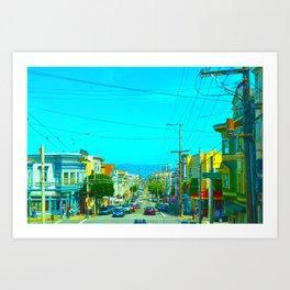 San Francisco Union St. Art Print