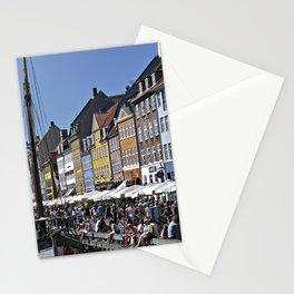 Nyhavn, Copenhagen in Denmark Stationery Cards
