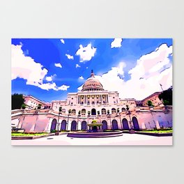 US Capitol II Canvas Print