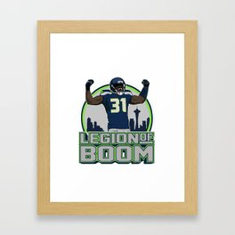 "The Victrs ""Legion of Boom"" Framed Art Print"