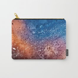 Vibrant Acrylic Texture Carry-All Pouch