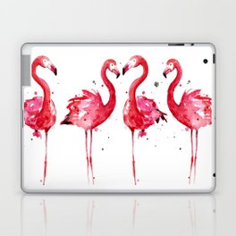 Pink Flamingos Laptop & iPad Skin