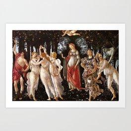 Primavera Painting by Sandro Botticelli Art Print