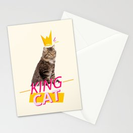 King Cat Stationery Cards