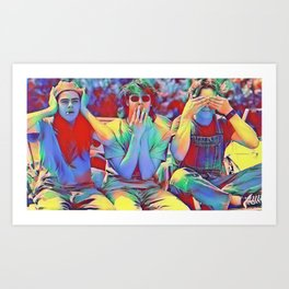 Dazed and Confused x flora Art Print