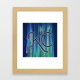 KC, MO Framed Art Print