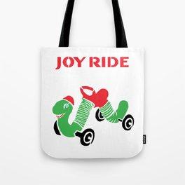 Vintage Inchworm Ride-On Toy Tote Bag