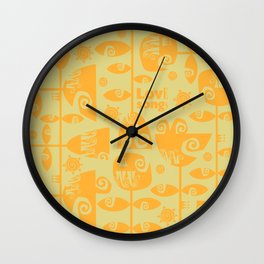 Love songs Wall Clock