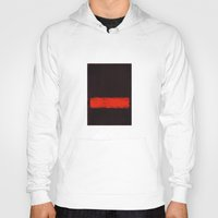 rothko Hoodies featuring Black, Red and Black 1968 Mark Rothko by Rothko