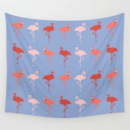 Pantone Flamingo Wall Tapestry