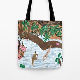 The Jungle Beach Tote Bag