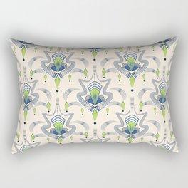 "Art Deco 34. ""Julia,"" Rectangular Pillow"