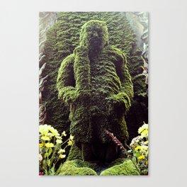 Moss Buddha  Canvas Print