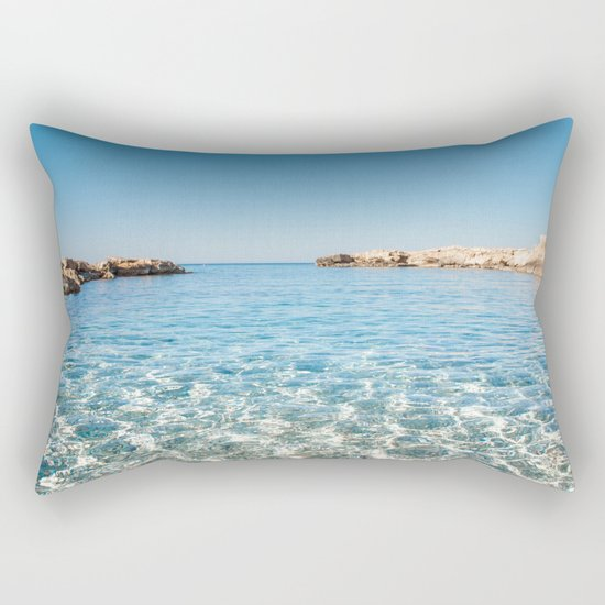Island Stories I Rectangular Pillow