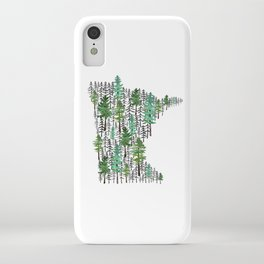 Minnesota Forest iPhone Case