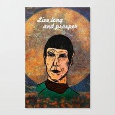Live Long... Canvas Print