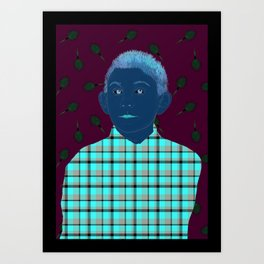 Dewey candyfloss Art Print
