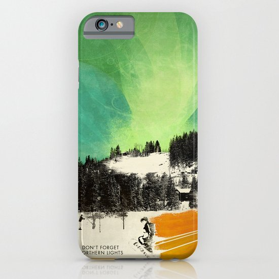 Dont Forget Northern Lights iPhone & iPod Case